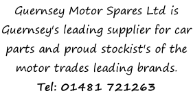 Guernsey Motor Spares Ltd is Guernsey's leading supplier for car parts and proud stockist's of the motor trades leading brands. Tel: 01481 721263